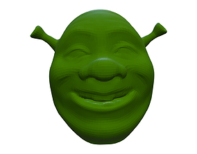 3D print model Shrek head shrek