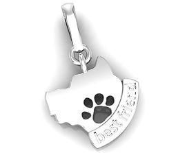 Dog Best Friend Charm 3D print model