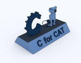 C for Cat Model boys