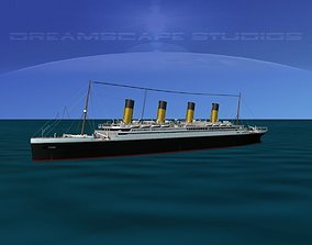 3D rigged RMS Titanic