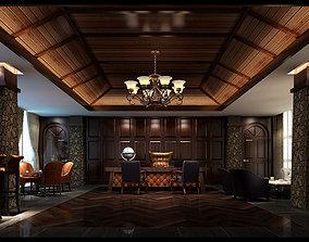 Boss office renderings 3D