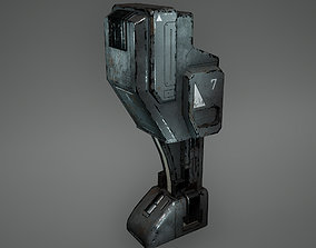 Cyberpunk Generator Low Poly Game Ready 3D model