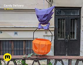 Social Distancing Halloween Candy 3D printable model
