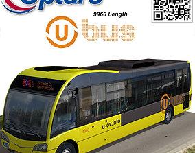 3D asset Optare Solo SR U-OV bus