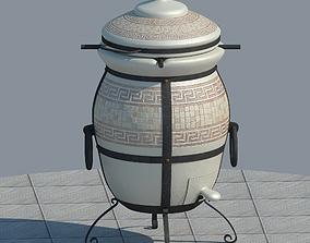 Tandoor barbecue 3D model