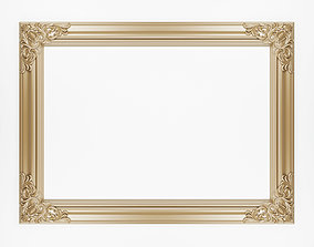 3D Frame with carved corners