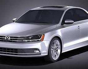 Volkswagen Jetta USA regular 2017 3D