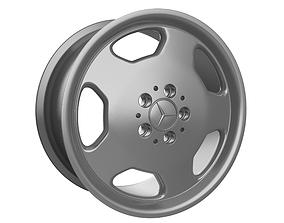 3D printable model Mercedes monoblock wheel