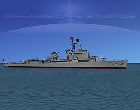 3D Gearing Class Destroyer DDR-876 USS Rogers
