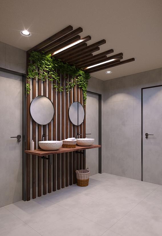 Public bathroom, WC