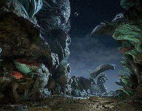 3D asset UE4 - Ancient Cavern Set II