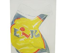 3D model Canvas - Plaggy Bag