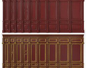 Wooden panels 03 02 3D