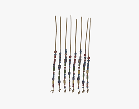 3D model Tribal Bead Curtain