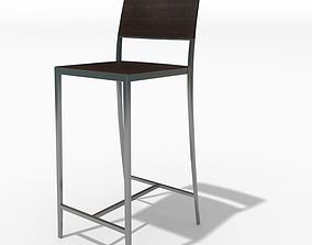3D model Modern Bar Chair