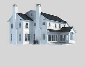 3D model Country villa