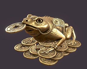 banzai Feng shui money toad The Jin Chan 3D model