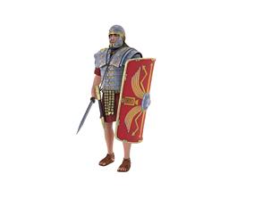 Roman Legionary 3D