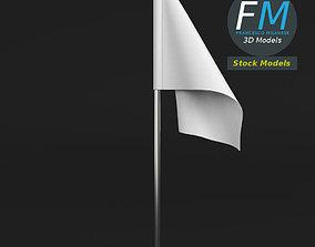 3D Table top flag