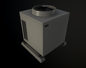 3D model External air conditioner Box