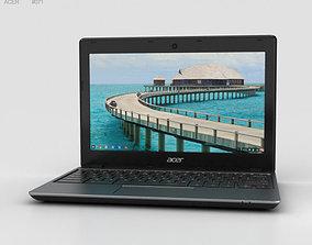 3D model Acer C720 Chromebook