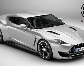 Generic Sport Coupe 3D model