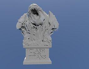 3D print model Clash of the Titans - Kraken Bust
