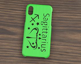 3D CARCASA IPHONE X-XS SAGITTARIUS SIGN