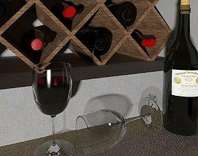 Wineglasses 3D