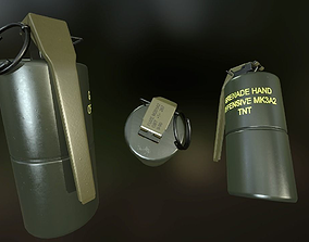 MK3A2 Grenade 3D model