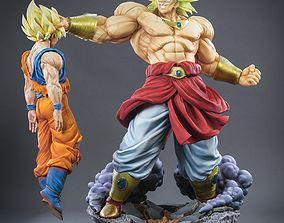 3D print model Broly Vs Goku ball