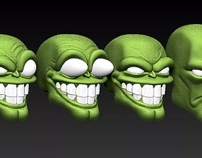 The Mask toy 3D print model