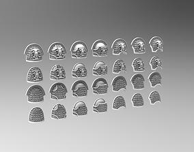 Deathvigil Shoulderpads 3D printable model