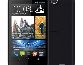 3D android HTC Desire 310 Black
