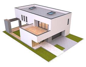 3D model Modern House 3