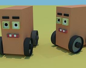 3D printable model car for game