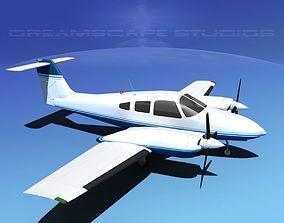 3D Piper PA-44-180T Turbo Seminole V06