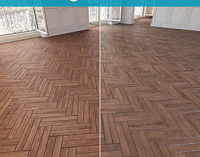 Herringbone parquet 34 WITHOUT PLUGINS 3D model