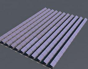 3D model Fotovoltaic Field