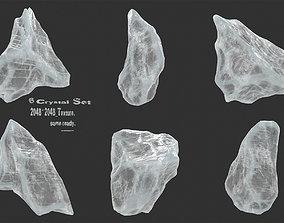 3D asset ice crystal