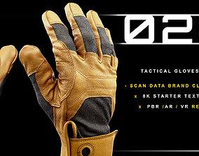 3D model Tactical Gloves 029