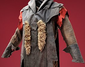 Hunter Cosplay Outfit 3D model