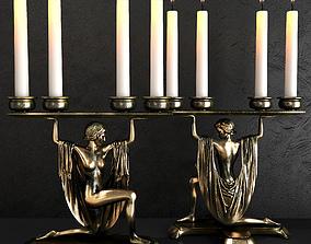 Eichholtz candle holder bruneau 3D model