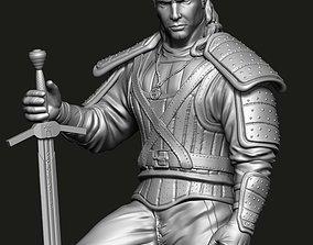 3D print model Geralti de Rivia The Witcher