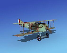 3D animated s SPAD VII