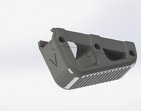 Tactical grip STL model