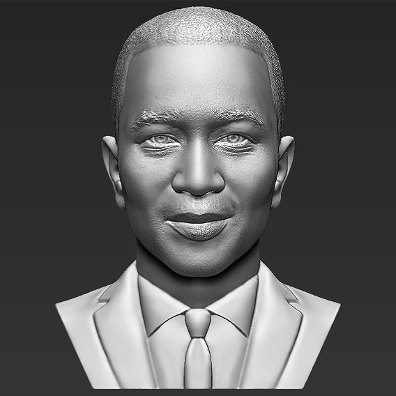 John Legend bust for 3D printing