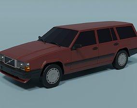 3D model Volvo 740 Wagon