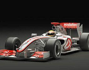 3D McLaren F1 2009 Vray