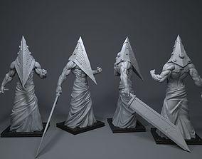 Pyramid Head figurines 3D printable model
